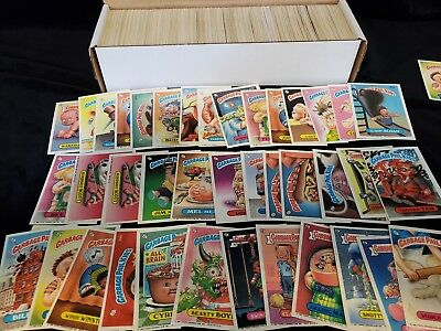 Original Garbage Pail Kids Lot Of 50 Cards plus free gift