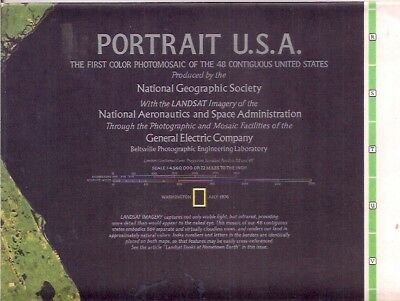 national geographic map-JULY 1976 PORTRAIT USA.