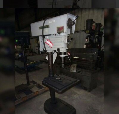 """Power Matic III, variable speed industrial drill press with 1/2"""" capacity chuck"""