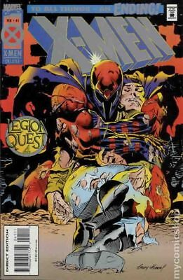 X-Men (1st Series) #41B 1995 Kubert Cards Not Included VF Stock Image