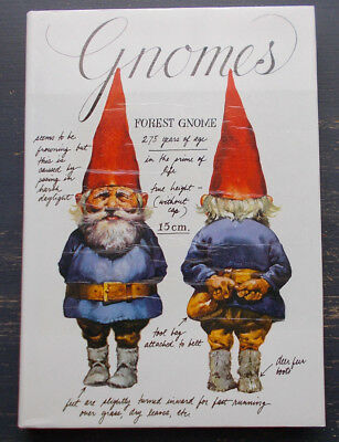 Gnomes by  Rien Poortvliet and Wil Huygen 1977 H/CD/J