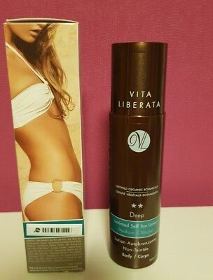 Vita Liberata Deep Untinted Tan Lotion(Selbstbräuner) 200ml