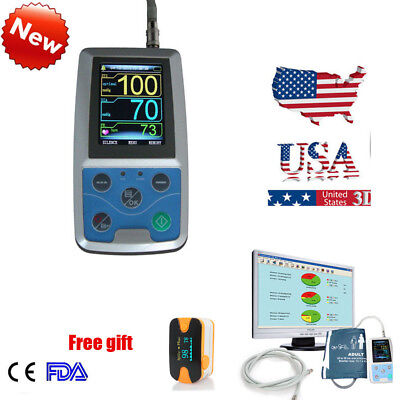 ABPM Ambulatory Blood Pressure Monitor Automatic 24h BP Software Contec Hot Sell