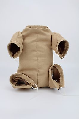 """Reborn Baby Dolls Doe Suede Body Kits With 3/4 Limbs for 22"""" Newborn Doll Gifts"""