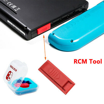 RCM Tool Clip Replacement Short Circuit Plastic Jig For Nintendo switch GBA FBA