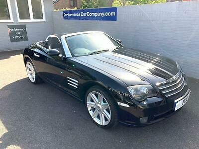 CHRYSLER CROSSFIRE 3.2 V6 Convertible Manual Only 62000miles FSH Leather AC Blac