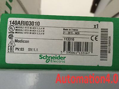 1PC NEW SEALED BOX Schneider MODICON 140ARI03010 RTD IN 8CH Module TSX Quantum