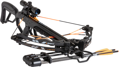 NEW FOR 2019 Bear Archery VANISH Crossbow BLACK SHADOW Package FAST @ 370fps