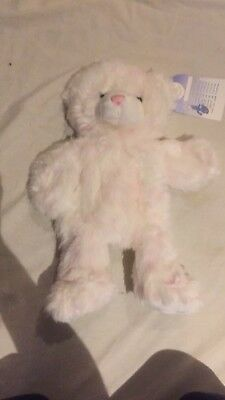 Build a Bear Pink Cuddle Teddy Brand New With Tags Never Stuffed
