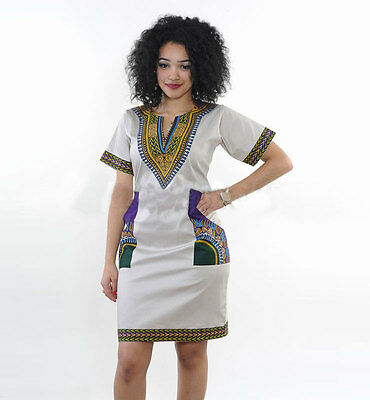 Dashiki Dress Plus Size Traditional Priant Dresses African Clothing Women 8 16 Eur 7 13 Picclick Fr