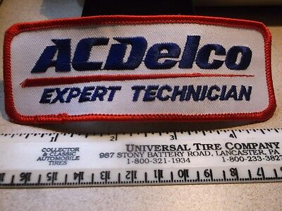 Embroided patch ACDELCO Expert Technician