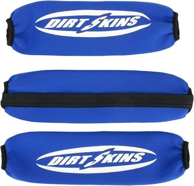 Schampa Dirtskins Stock Shock Covers Blue #DS01-2 Honda/Suzuki/Yamaha/Arctic Cat