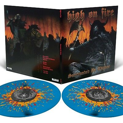 High On Fire 'Surrounded By Thieves' Sea Blue Splatter Vinyl - NEW