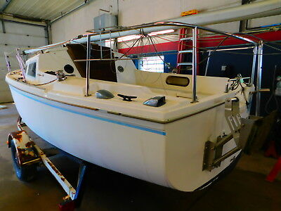 22' Catalina C22 Sailboat  W/Trail Rite Trailer T1279448