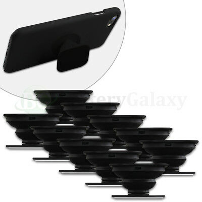 10 Universal PULL UP Phone Stand Expand Grip Tablet Holder Square Mount Stand