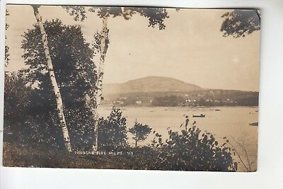 Eastern ILL Real Photo Postcard Mountain Blue Hill ME