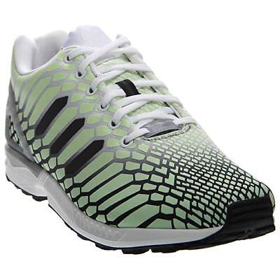 e7640b3685c Adidas Mens Originals ZX Flux Xeno Green Glow Dark Reflective Shoe AQ4535  Size 8