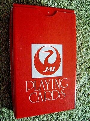 JAL Japan Air Lines Playing Cards