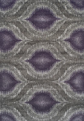 "Dalyn Modern Greys MG4441 Plum 7'10"" x 10'7"" Rectangle Area Rugs MG4441PL8X11"