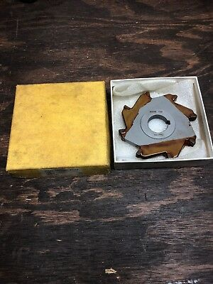 Morse Cutting Tools 4x3/8x1 Side Milling Cutter
