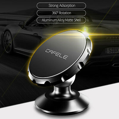 Universal 360° Rotating Car Holder Magnetic Mount Stand For Cell Phone PDA GPS