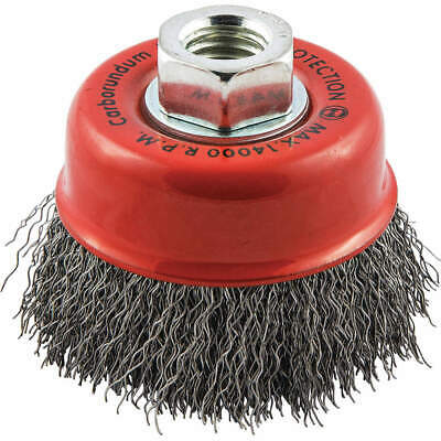 """GRAINGER APPROVED Cup Brush,Wire 0.014"""" dia.,Carbon Steel, 66252838777"""