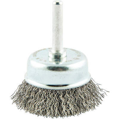 """GRAINGER APPROVED Cup Brush,Wire 0.012"""" dia.,Carbon Steel, 66252838711"""
