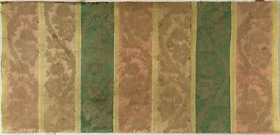 Beautiful Late 18th or Early 19th C. French Silk Woven Fabric   (2452 )