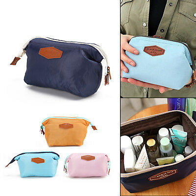 Womens Portable Cosmetic Pouch Organizer Ladies Toiletry Bag Travel Makeup Bags