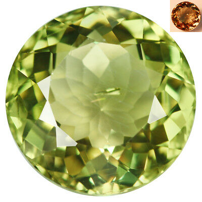 4.77Ct Awesome Round Cut 10 x 10 mm AAA Color Change Turkish Diaspore