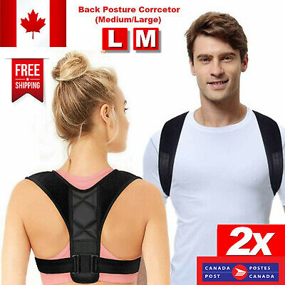 Adjustable Therapy Posture Corrector Clavicle Back Support Brace Belt Men Women