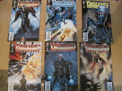 The TWILIGHT EXPERIMENT. COMPLETE 6 issue DC/ WS 2005 series by GRAY & PALMIOTTI