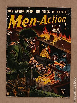 Men in Action (1st Series Atlas) #5 1952 GD/VG 3.0