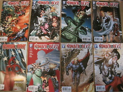NUMBER of the BEAST : COMPLETE 8 issue DC/ WS 2008 series by BEATTY & SPROUSE