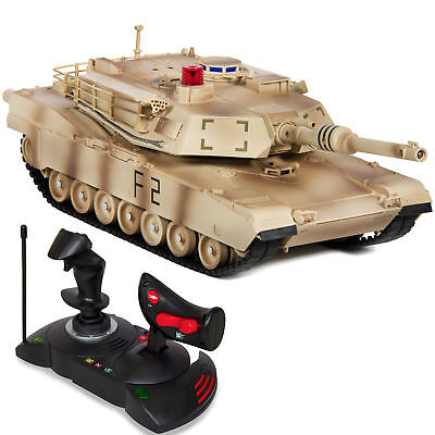 1/14 Scale RC Military Tank Gravity Sensor Radio Remote Control Car- Camouflage