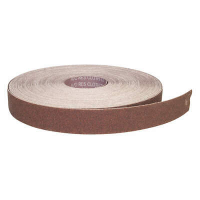 GRAINGER APPROVED Abrasive Roll,150 ft. L,Medium,P60 Grit, 05539510947, Brown
