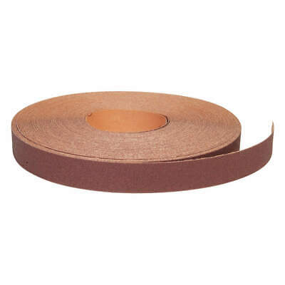 GRAINGER APPROVED Abrasive Roll,150 ft. L,Medium,P80 Grit, 05539529350, Brown