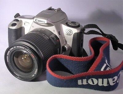 CANON EOS 300 35mm SLR CAMERA WITH ZOOM LENS