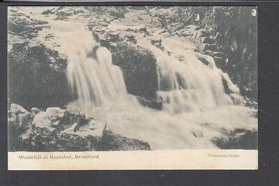 Scotland - Skye Broadford Waterfall at Harrabol - Pub Valentine