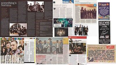 ARCADE FIRE : CUTTINGS COLLECTION -adverts etc-