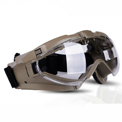 Tactical Anti-fog Dust Glasses Safety Eyewear Shock Resistance Airsoft Goggles