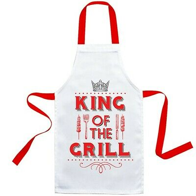 Pink Blame Prosecco or Green Cooking Be Gin or Red King Grill BBQ Cooks Apron