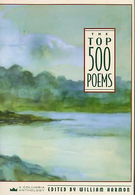 The Top 500 Poems by William Harmon (English) Hardcover Book Free Shipping!