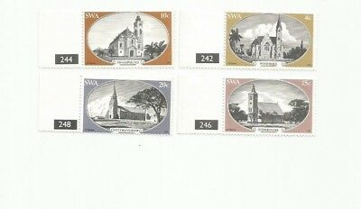 Southwest Africa Scott 419-22 Mnh
