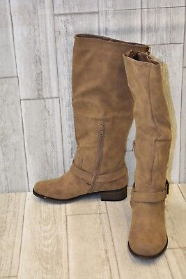 7ad965ffb XOXO WOMENS MAIRE Black Riding, Equestrian Boots Size 9 (17982 ...