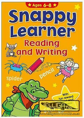 Snappy Learner Reading & Writing Educational School Book & Reward Chart Age 6-8