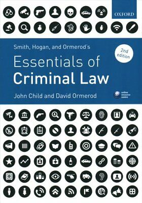 Smith, Hogan, & Ormerod's Essentials of Criminal Law by John Child, Professor...