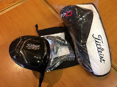 "TITLEIST ""917 D2"" Ti DRIVER, 8.5 DEG, S FLEX ALDILA ROGUE, LITTLE USED DEMO !!"