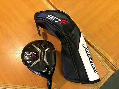 "Titleist ""917 F3"" #3 Fairway 13.5 Deg, S Flex Aldila Rogue Max, Totally Mint !!"