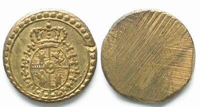 ITALY Coin weight 18th century 1.8g AU!!! # 19927